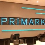 LED signage - Primark