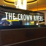 LED signage - Crown Rivers hotel