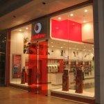 LED signage - Vodafone