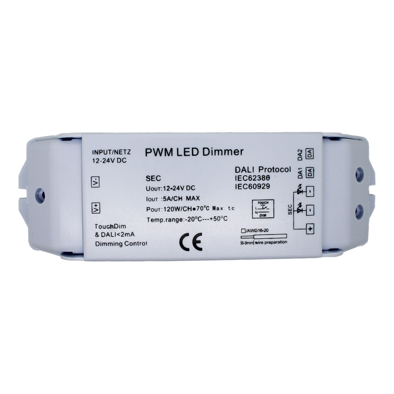 Wiring Diagram For Led Downlights : Channel dali dimmer module amps per