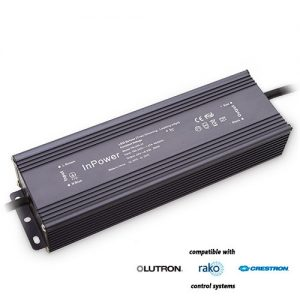 200-watt water-resistant dimmable transformer for LED strip lights