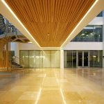 Marlow International lobby area (walkway LED downlights)
