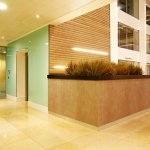 Marlow International lobby area (lift LEDs)
