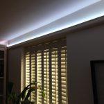 Coving lighting using 12-volt (5W) LED tape