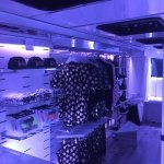 Hot!MeSS tourbus lit by InStyle LEDs