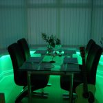 LEDs and atmospheric dining