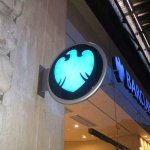 Barclays projecting LED signage