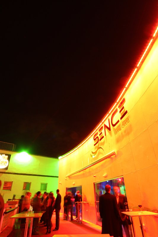 Sence nightclub LEDs