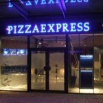 Pizza Express LED fasica