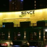 High impact Sence nightclub frontage