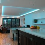 Sky-blue mix for RGBW kitchen LEDs
