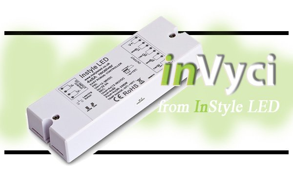 inVyci LED control systems from InStyle