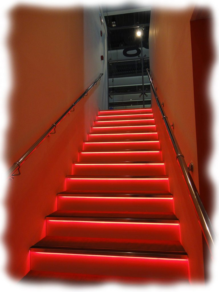 How To Choose And Install Led Lights On Staircases Steps