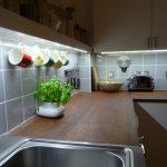 Under-cabinet LED kitchen lights