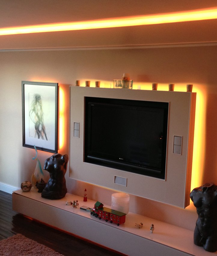 How To Choose The Right Led Tv Lights Amp Media Panel Leds