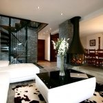 Chalet Prarion - lounge and dining area