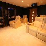 Chalet Prarion - cinema room