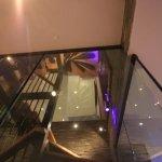 Chalet Prarion - LED staircase design