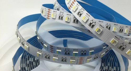 20-watt RGBW LED strip lights