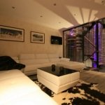 Relax at night in Chalet Prarion