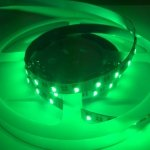 RGBW LED tape-reel mixing green light