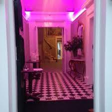 24 Royal Terrace vestibule - 20-watt RGBW LED strip lights