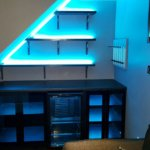 RGB alcove LEDs - blue mix