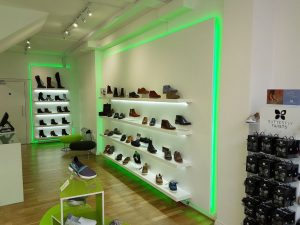 instore LED display lights