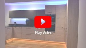 10W RGBW plinth/cabinet lighting