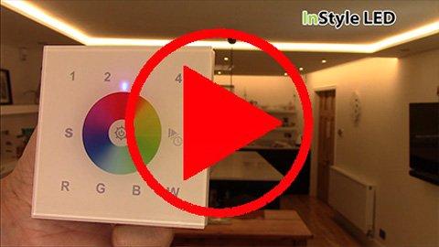 multizone RGBW Wall Controller