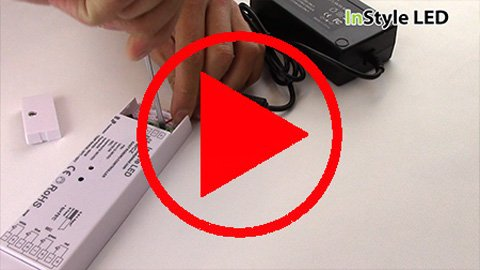 How to wire a multichannel LED receiver