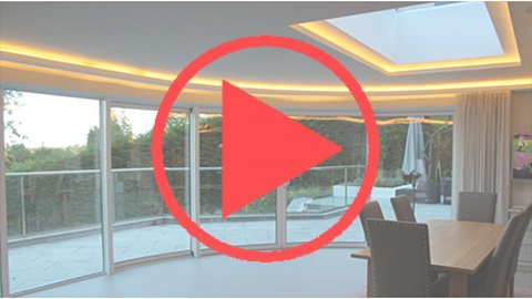 Warm-white LEDs and HDL home automation enhance this renovation