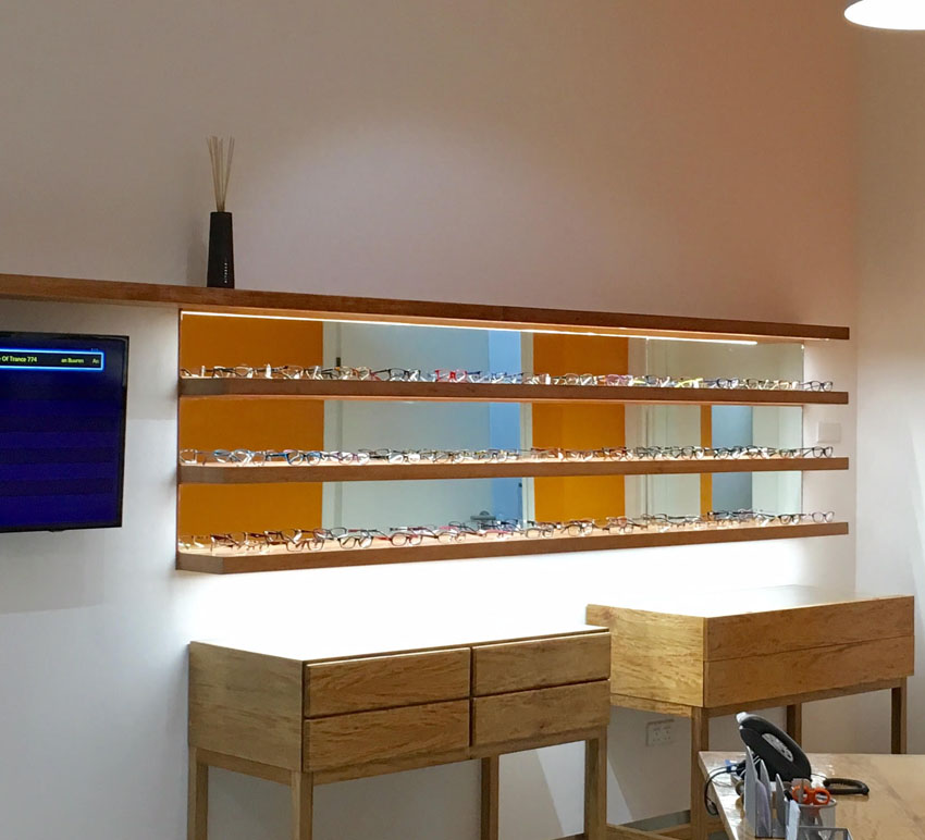 Warehouse Lighting Lux Levels Uk: Optician Store Display Lighting By InStyle