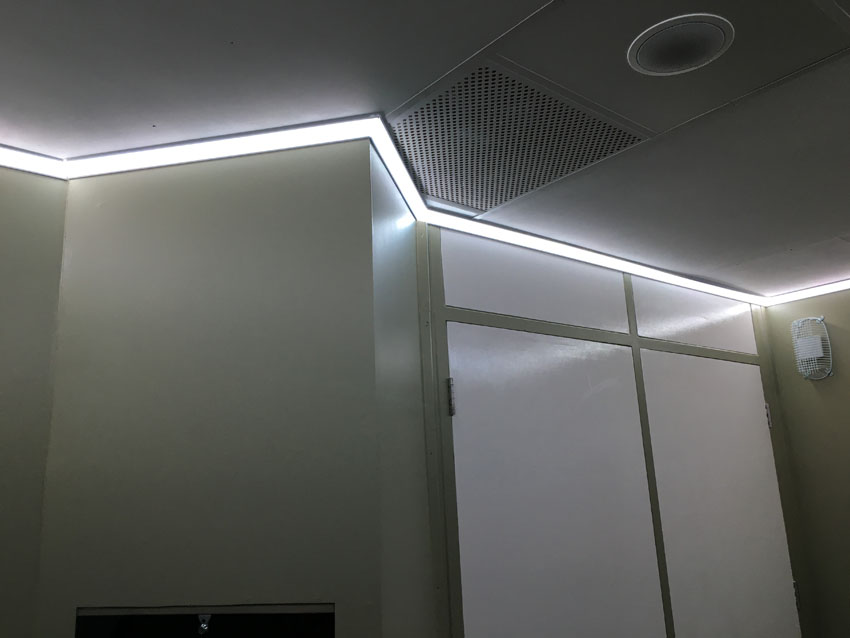 Calm Room Lighting At Portland School Instyle Led