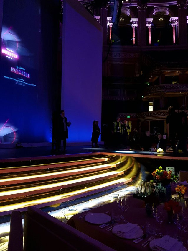 Lighting A Starry Night Instyle Led At The Fashion Awards