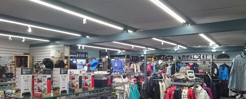 Largs Chandlers feature pic - InStyle LEDs used at sailing supplies outlet