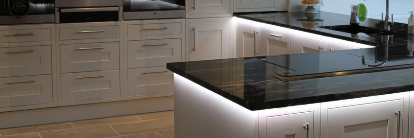 RGBW LED kitchen project - feature pic
