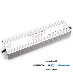 300-watt TRIAC-dimmable LED driver, for interior or exterior applications