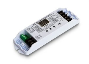 DMX Constant-Current Multichannel Receiver with terminals open for wiring