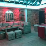 Conservatory, jacuzzi & kitchen - multizone RGBW LED project