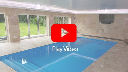 Liverpool outdoor pool-house RGBW LED installation