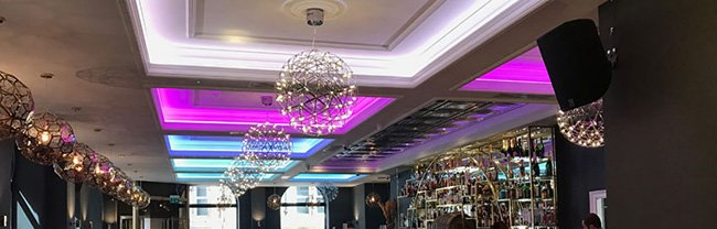 Roc & Rye LED installation - feature pic