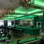 Roc & Rye coffer LEDs set to leaf green