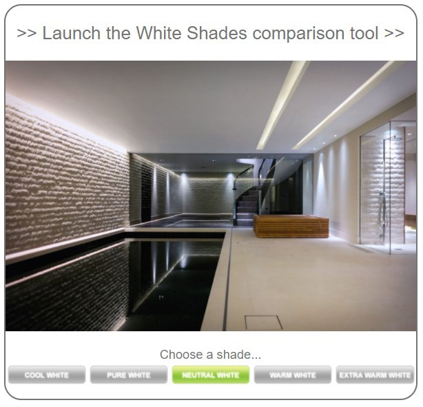 Launch InStyle's LED white light comparison tool
