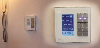 Integrated DMX and home automation control