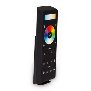 5-colour multizone remote controller for compound dual-white+RGB LEDs