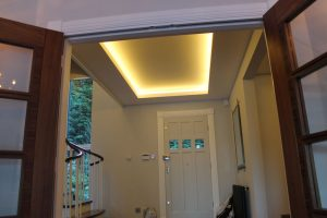 Drop-ceiling feature LEDs