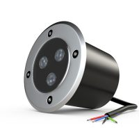 9-watt LED groundlight - only available with RGB LEDs