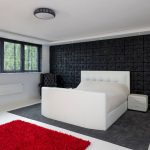 master bedrooom with RGBW LED coving