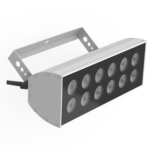 12-bulb LED wash light - white, single-colour & colour-change options